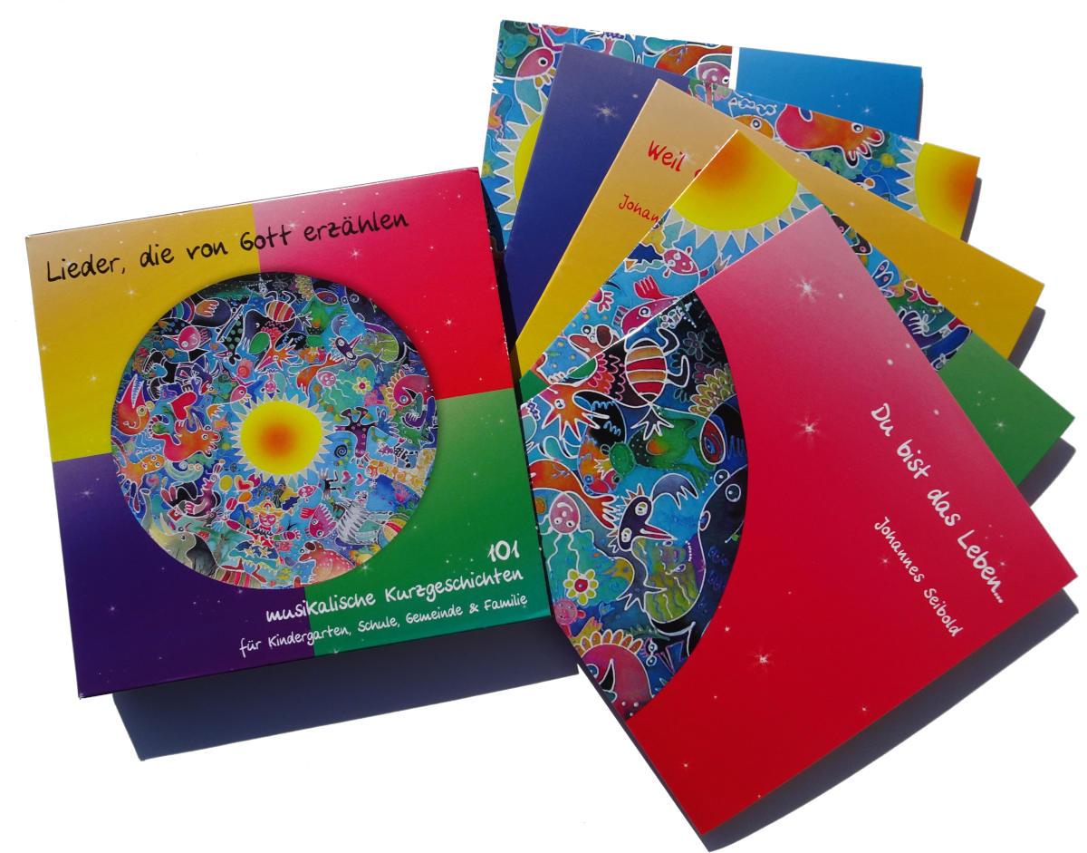 CD Grafik - Liedersammlung - Aufgefächert